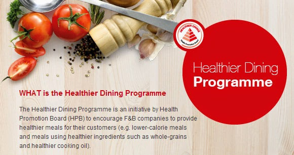 Healthier Dining Programme